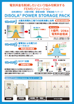DISOLA POWER STORAGE PACK